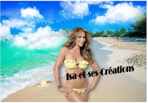 Suite : mes nouvelles créa : plage