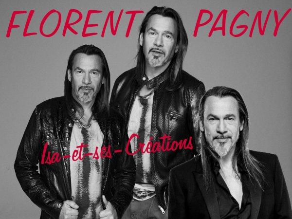 Mes nouvelles créa : FLORENT PAGNY