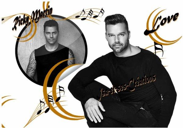 Mes nouvelles créations de mon chéri : Ricky Martin