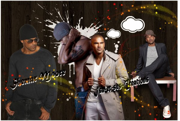 Mes nouvelles créations : SHEMAR MOORE