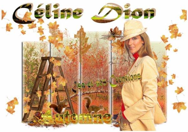 Mes nouvelles créa : AUTOMNE - Louane - Kendji - Ricky Martin - Céline Dion - Britney Spears - Florent Pagny - Mickael Jackson