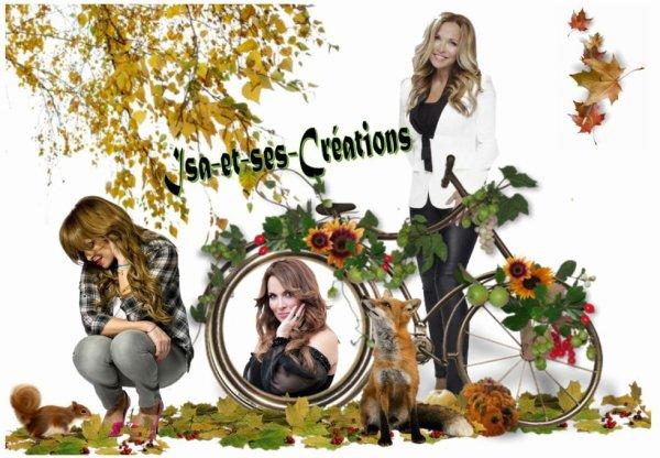 Suite : Mes créa : AUTOMNE 2016 - Lorie - Louane - Ricky Martin - Priscilla - Hélène Ségara - Tony Carreira - Shakira