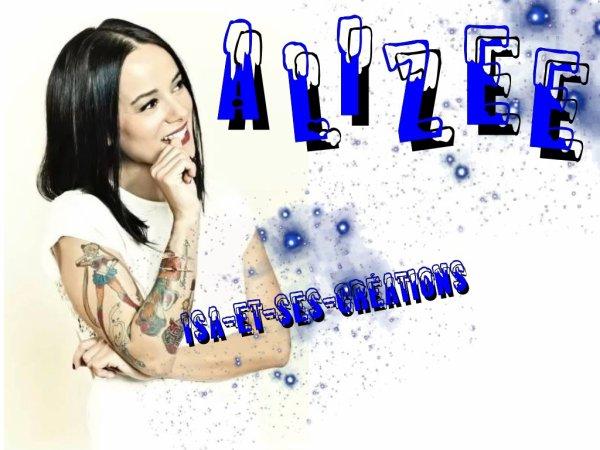 Mes nouvelles créa : ALIZEE