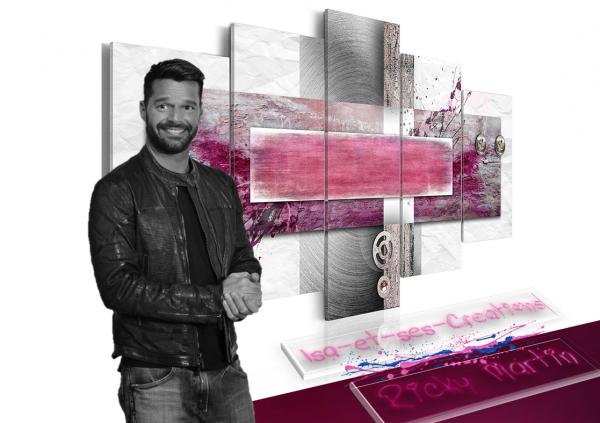 Suite : Mes créa : M. Pokora, Ricky Martin, Shakira