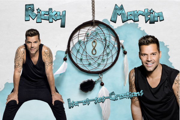 Mes nouvelles créa du jour : Johnny, Frédéric Francois, Céline Dion, Louane et Ricky Martin