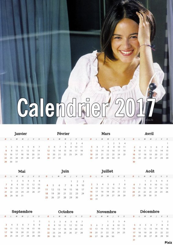 Calendriers 2017