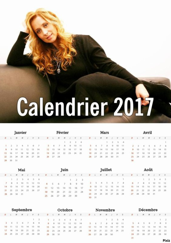 Suite : Calendriers 2017