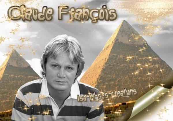 Mes nouvelles créations : CLAUDE FRANCOIS