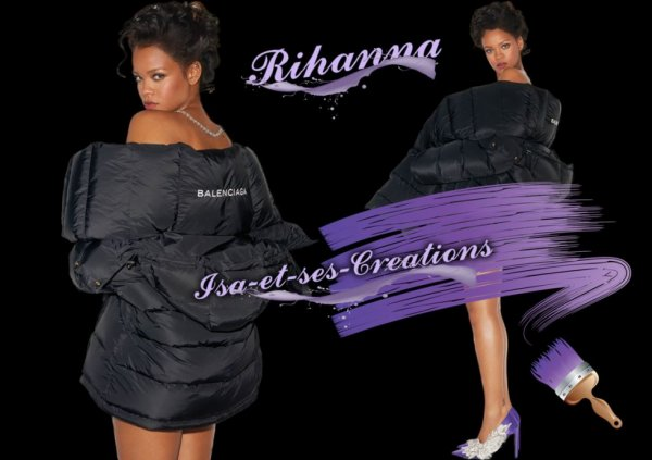 Mes nouvelles créations : RIHANNA