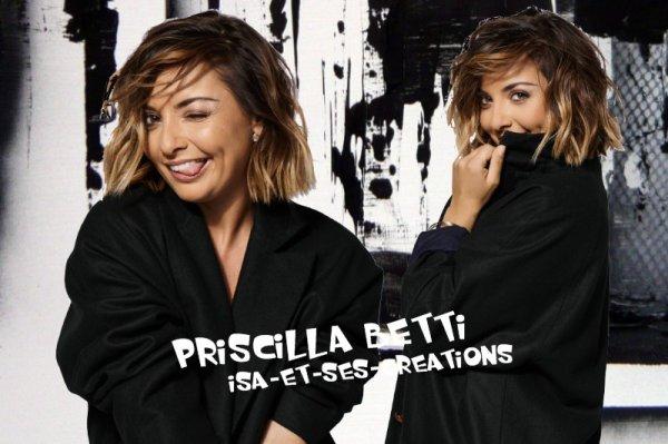 Mes nouvelles créations : Priscilla Betti