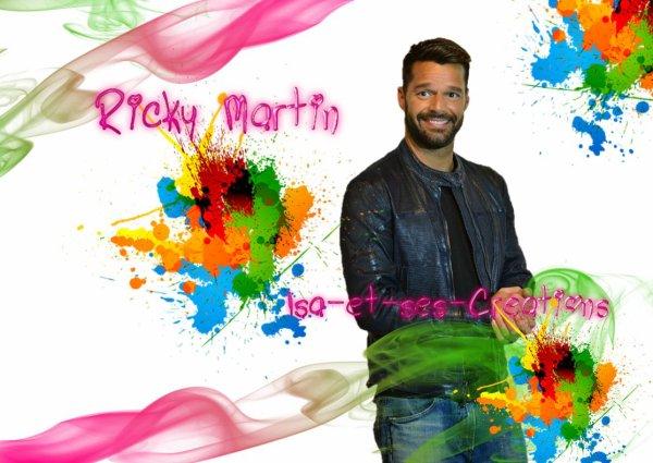 Mes nouvelles créa : RICKY MARTIN (Mon chéri)
