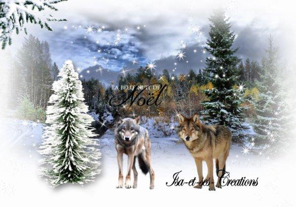 Ma nouvelle création : Les loups