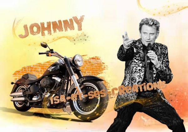 Mes nouvelles créations de JOHNNY