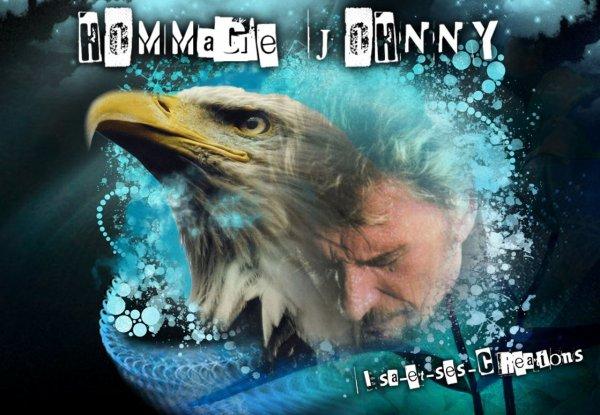 Mes nouvelles créations : HOMMAGE A JOHNNY