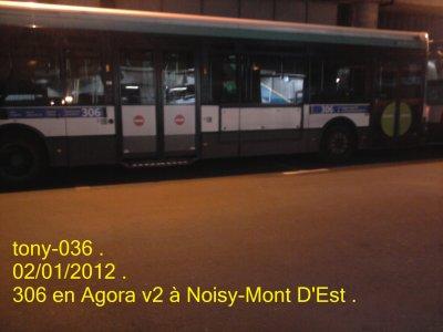 Renault Agora V2 du 306 à Noisy-Mont D'Est .