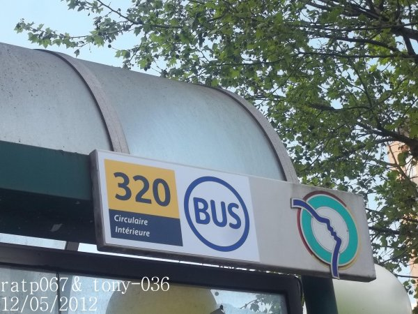 Bienvenue sur la ligne 320!