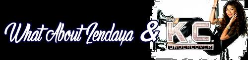 Zendaya Coleman - Candids & What About K.C Undercover.