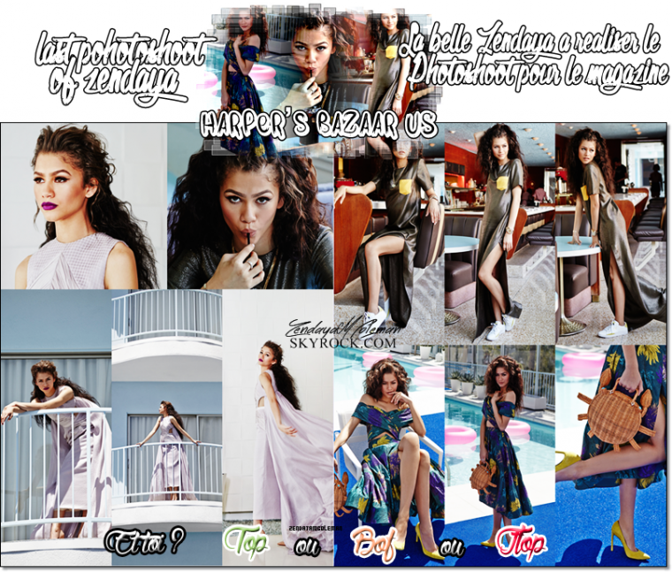 Zendaya Coleman - New Photoshoot &  Candid + RDMA 2015