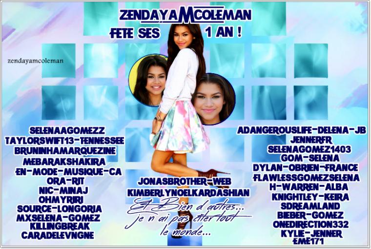 Teen Choice Award & Special Candid + ZendayaMColeman celebrate his birthday