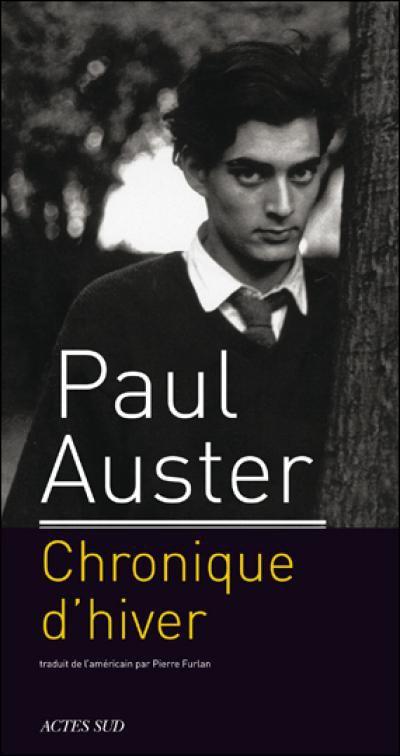 Chronique de l'hiver de Paul Auster