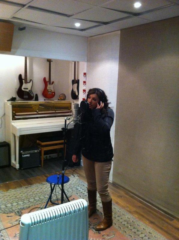 Enregistrement Du 1er Single de Sorya au Studio LDC à Montreuil
