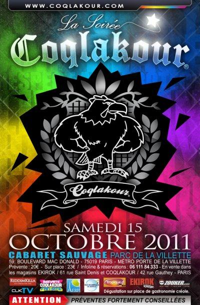SOIREE COQLAKOUR LE 15 OCTOBRE 2011
