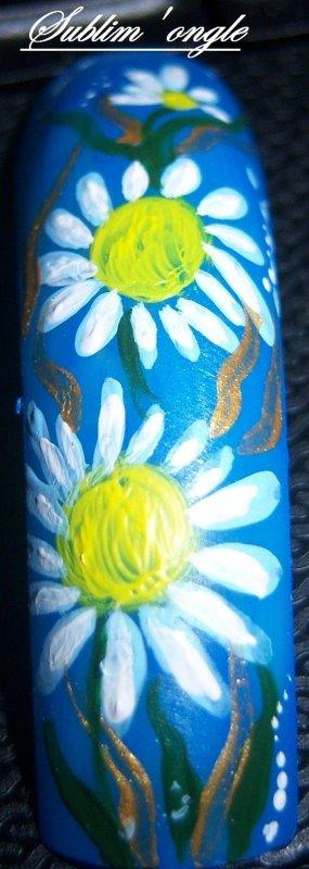 Déco peinture acrylique faites lors de ma formation du 30 août avec alexia nail .