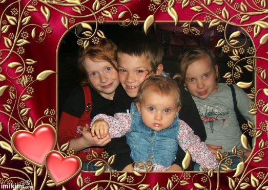mé enfants ke j'aime plus ke tous