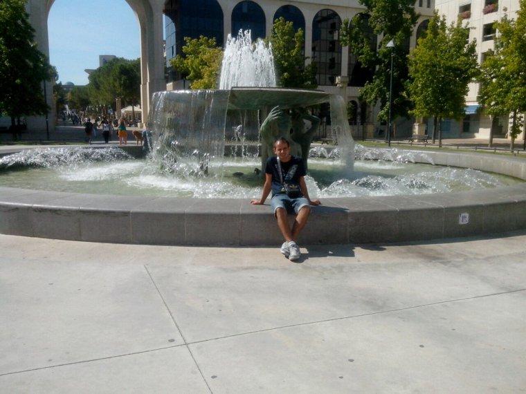 Moi a montpellier de la fontaine