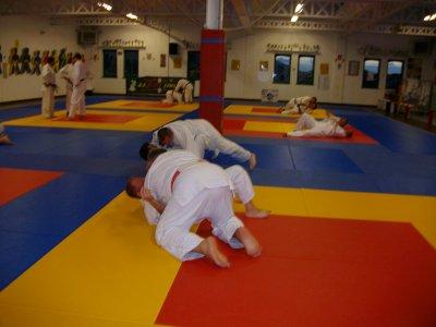 UN judoka de poids et haut gradé