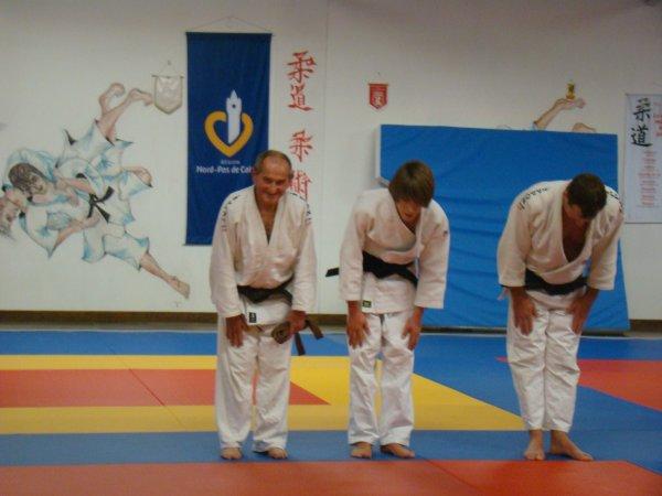 103 ème ceinture noire au club étaplois