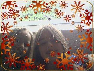 Et bien pour moi c'est une ancienne photo, avec ma cousine.