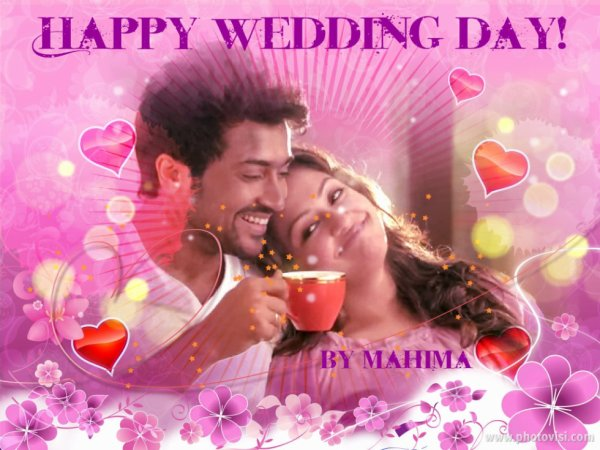 TOMORROW 11/09/2013 SURYA AND JO ARE CELEBRATING THEIR 7TH WEDDING ANNIVERSARY!POST UR WISHES HERE!