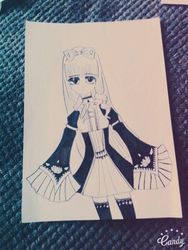 Manga fille 2