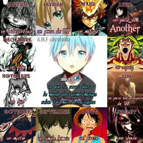 Si vous étes un manga , vous seriez ...