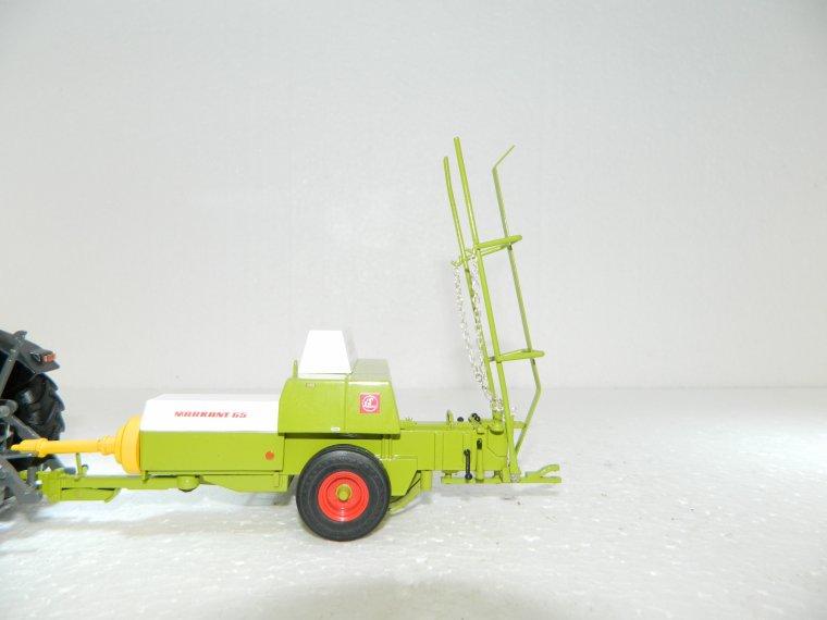 realisation d'une rampe et d'une attache charriot pour la presse claas replicagri