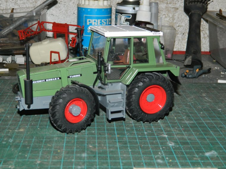 fendt 626lsa : on va le modifier ,on le demonte entierement