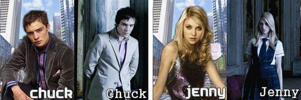 LES PERSONNAGES PRINCIPAUX (Dan, Serena, Nate, Blair, Chuck et Jenny)