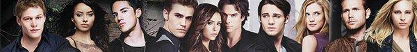 LES PERSONNAGES PRINCIPAUX (Elena, Stefan, Bonnie, Damon et Caroline)