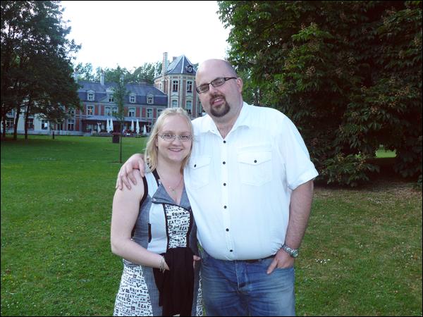 15 juin 2013 - Repas pour le mariage de Julien (frère d'Emilie) au château de Beaulieu