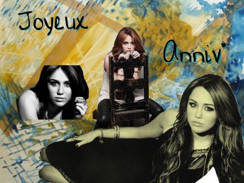 Tres Bon Aniiversaire Miley !! <3