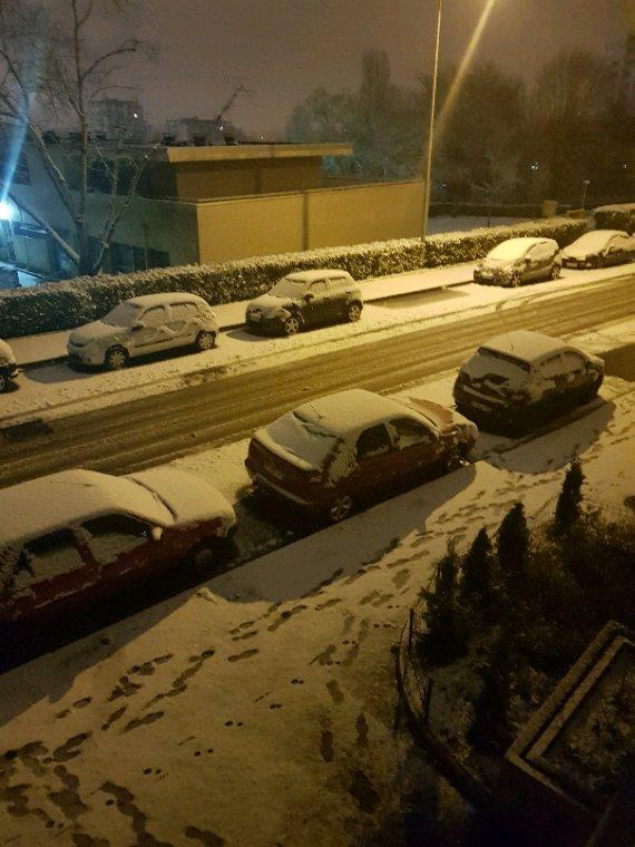 La neige a Dijon
