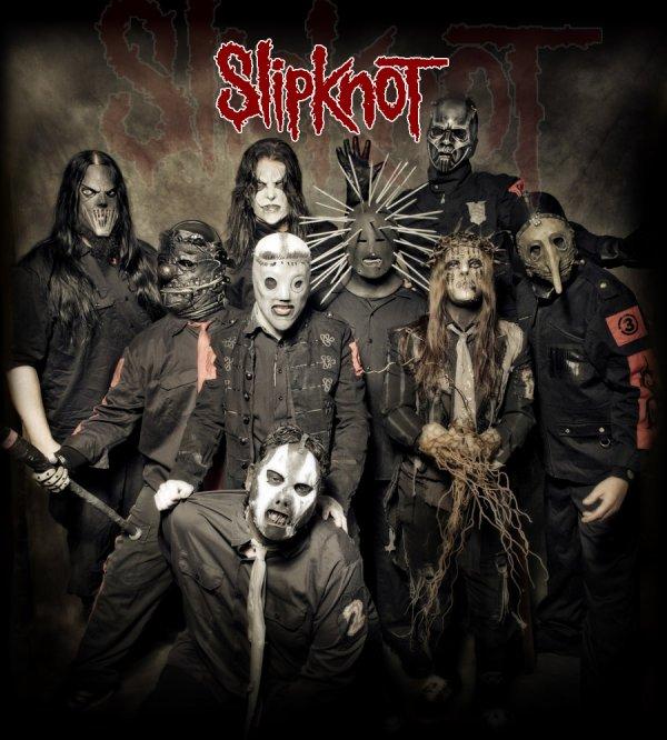 Super groupe de hard rock : Slipknot!!!!