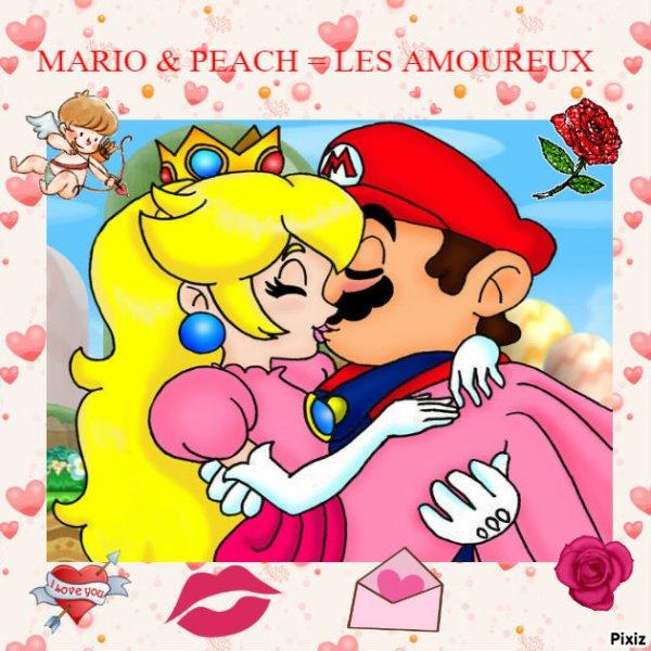 Les couples : Link&Zelda et Mario&Peach
