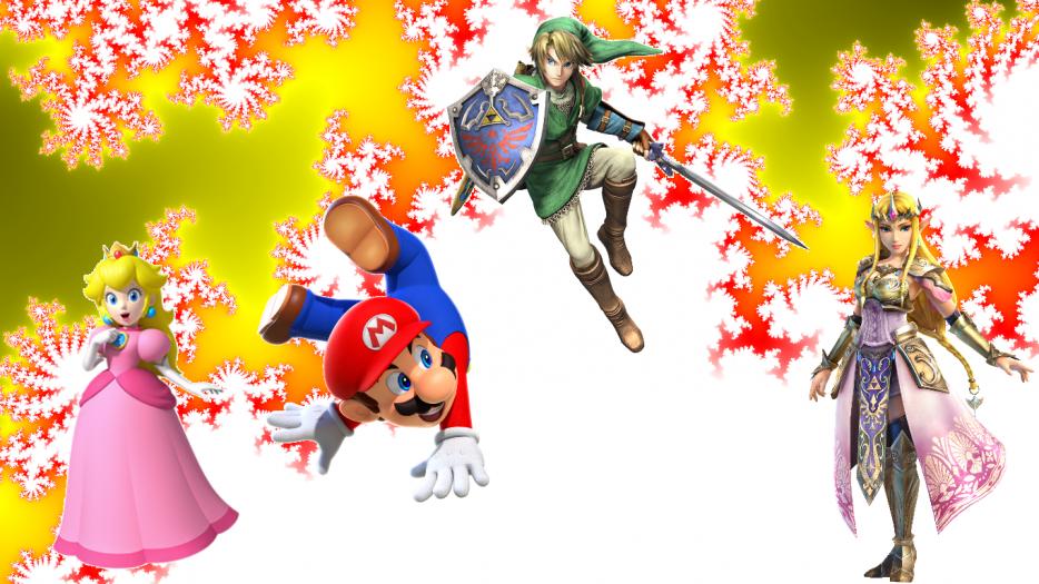 Blog des personnages principaux de The Legend Of Zelda et Des jeux Mario