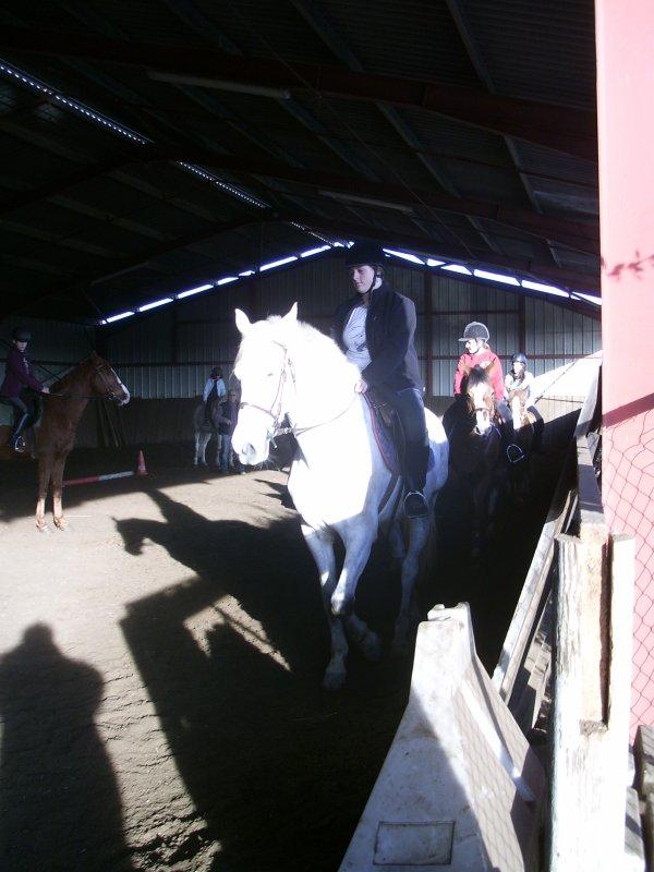 Ce n'est pas un cheval et vous n'êtes pas dans un manège c'est un partenaire de danse ...