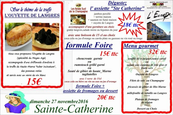 sainte catherine 2016