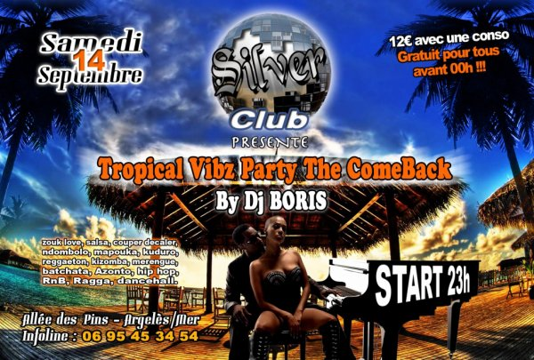 Tropical Vibz Party The Comeback By DjBoris