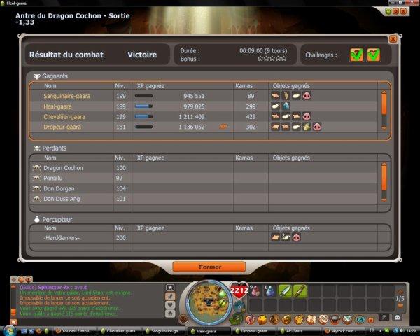 drop tutu +14 avec 1500 pp 5 perso