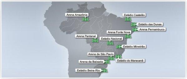 Les villes organisatrices